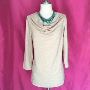Kim Rogers Cowl Neck Top